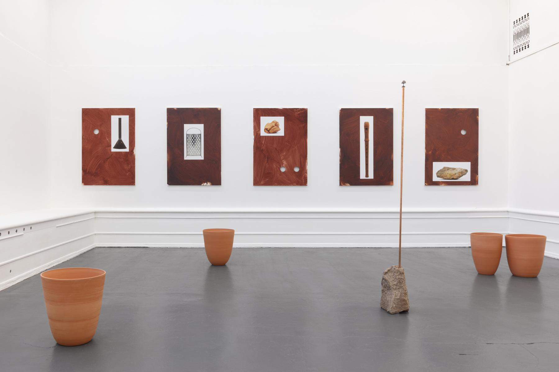 installationsbild Galleri Flach 2020
